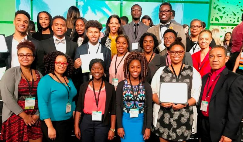 Oakwood Students Win at ABRCMS