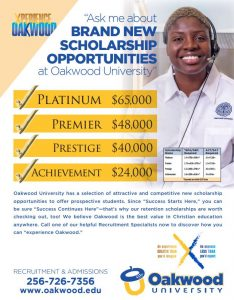 Ask me about Scholarship Opportunities