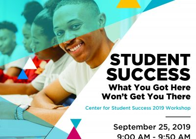 Student Success Flyer 2019