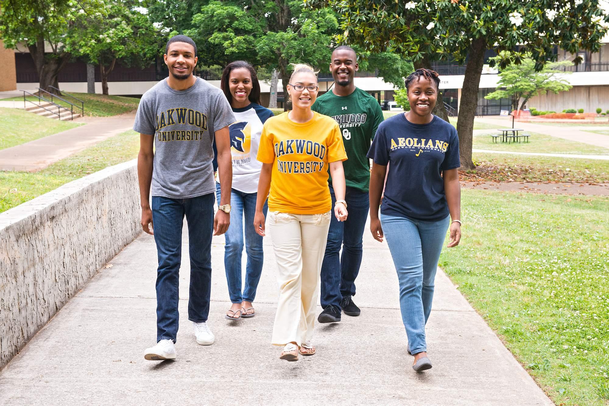 Oakwood University- Freshmen, Sophomores, Juniors & Seniors